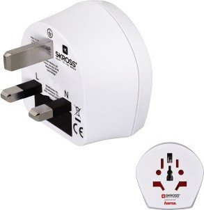 HAMA 128207 WORLD- UK T-A PLUG,3 PINS