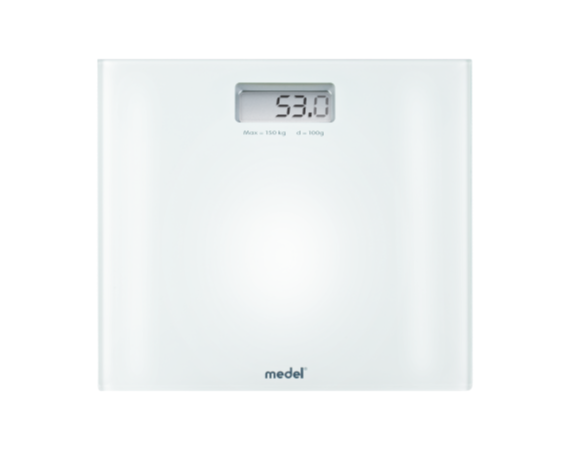 MEDEL 92081 CRYSTAL DIGITAL WEIGHING SCALE