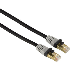 HAMA CAT 6 Network Cable STP, gold-plated, double shielded, 7.50 m