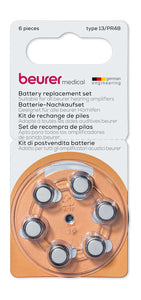 BEURER C50 641.04 6PCS HEARING AID BATTERY TYPE13/PR48