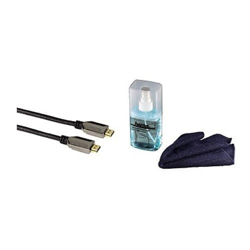 HAMA 56556 HDTV KIT, HIGHSPD HDMI™ CABLE,E.NET 1.5M,GEL,CLEANCLOTH