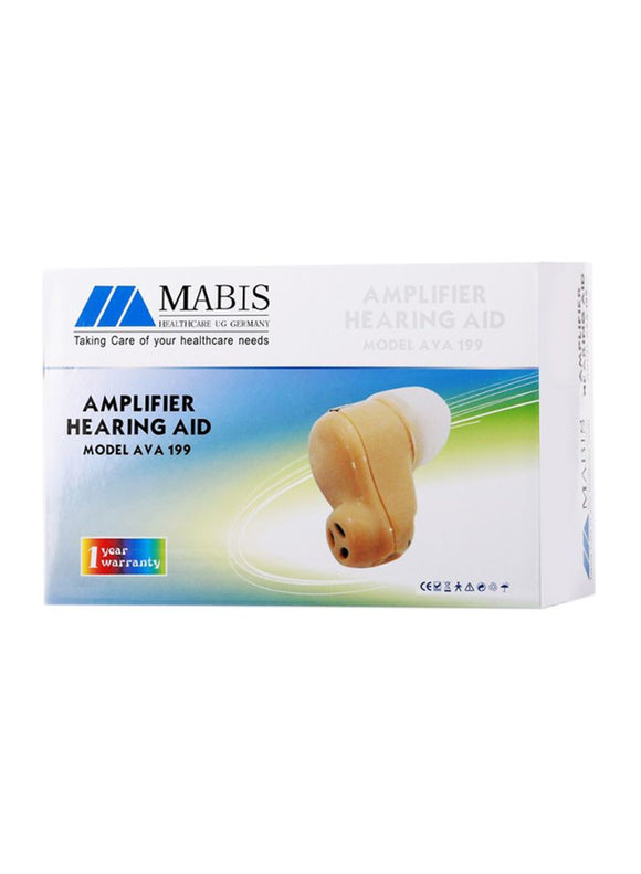 Mabis Ava199 Amplifier Rechargable Hearing Aid