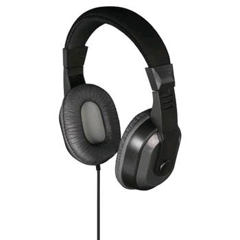 THOMSON 132426 OVEREAR HEAD PHONE HED2006BK/AN 1.2M BLACK