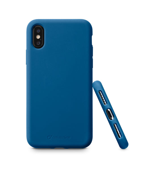CELLULARLINE SENSATIONIPH8XB SOFT BLUE CASE IPH X