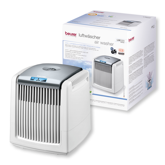 BEURER LW220 AIR HUMIDIFIER & AIR WASHER white