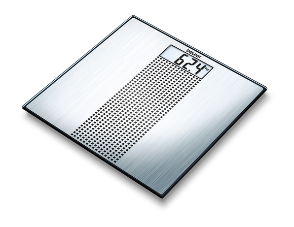 BEURER GS36 STEEL GLASS SCALE