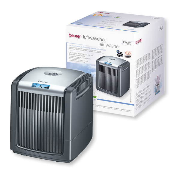 BEURER LW220 AIR HUMIDIFIER & AIR WASHER black