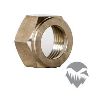 Beer Shank Nut – Chrome Plated