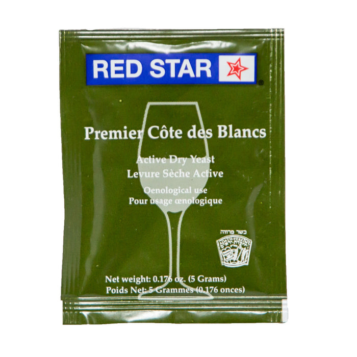 Red Star Cote des Blancs Active Dry Wine Yeast