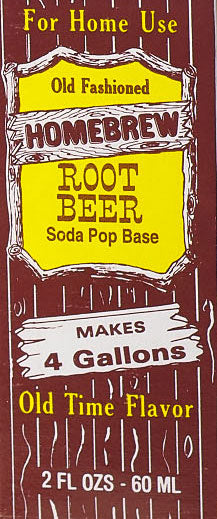 Homebrew Rootbeer Soda Natural Extract