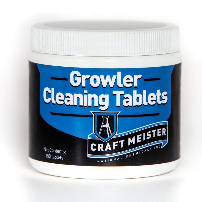 Craft Meister Growler Tabs 150/CT