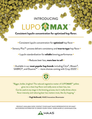 LUPOMAX introduction sheet