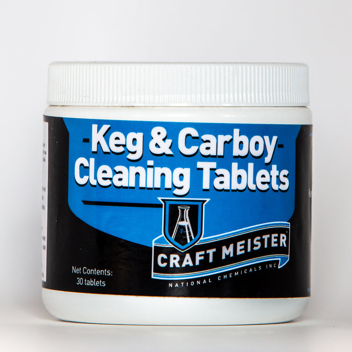Keg & Carboy Cleaning Tablets 30 tabs