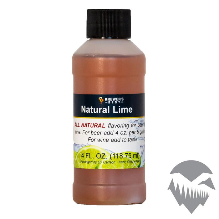 Lime Natural Extract - 4oz