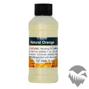 Orange Natural Extract - 4oz