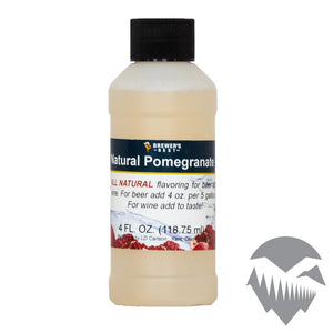 Pomegranate Natural Extract - 4oz