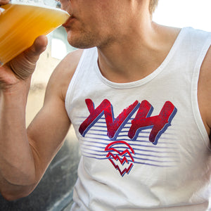 White Rad YVH Tank Top | Men's and Women's