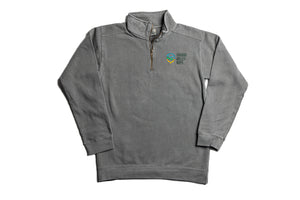 Cozy Embroidered Quarter-Zip