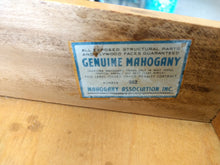 Load image into Gallery viewer, Mid Century Hekman Bleached Mahogany Bar Cart