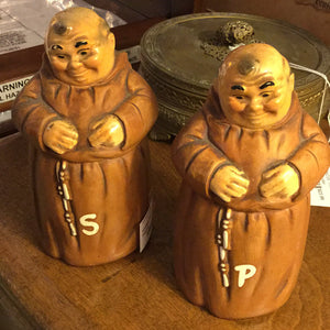 "Vintage Twin Winton 6"" Monk Salt & Pepper"