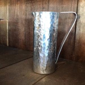 NEW Hammered Aluminum Pitcher -12302