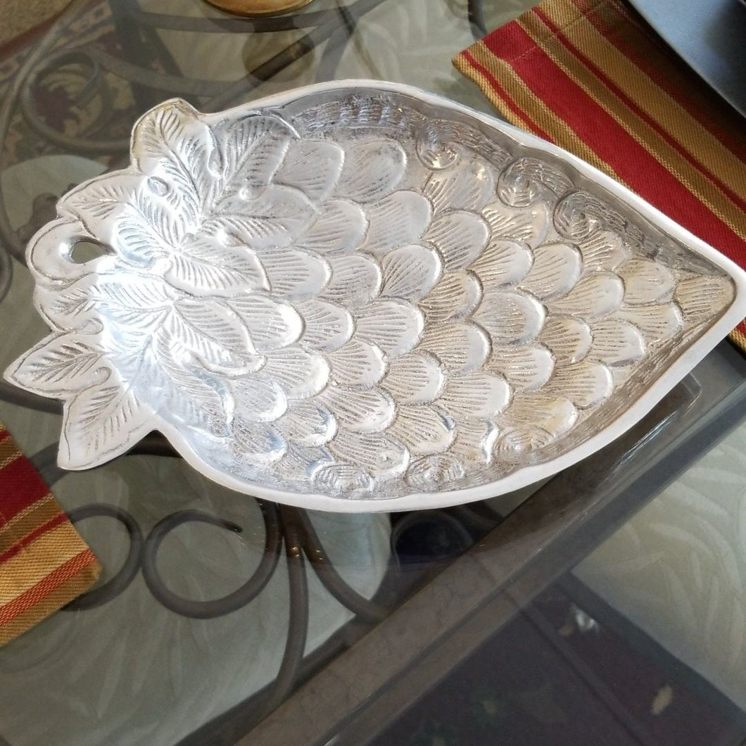 Aluminum Strawberry Platter