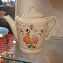 Load image into Gallery viewer, Vintage Porcelier Vitreous China Teapot, Made in USA