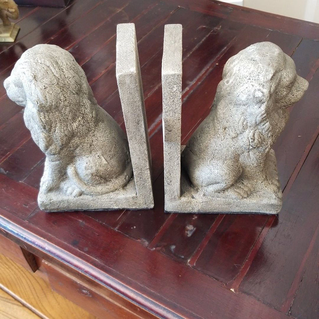 NEW Lion Bookends (Pair)