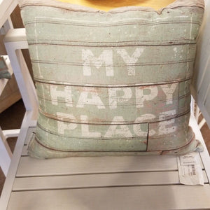 NEW Pillow - Happy Place - 30886