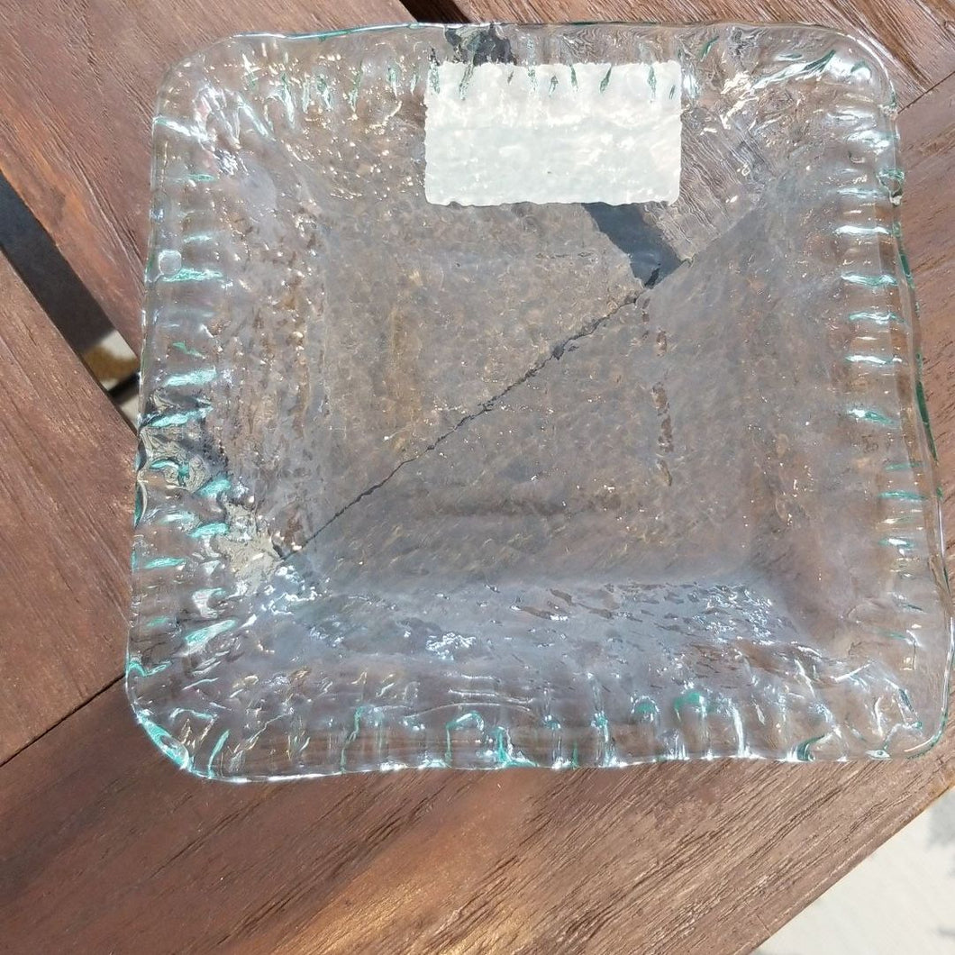 NEW 6x6 Iceberg Glass Tray