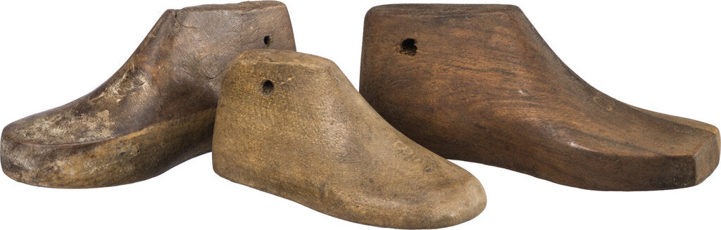 Vintage Small Wooden Shoe Form - 31914