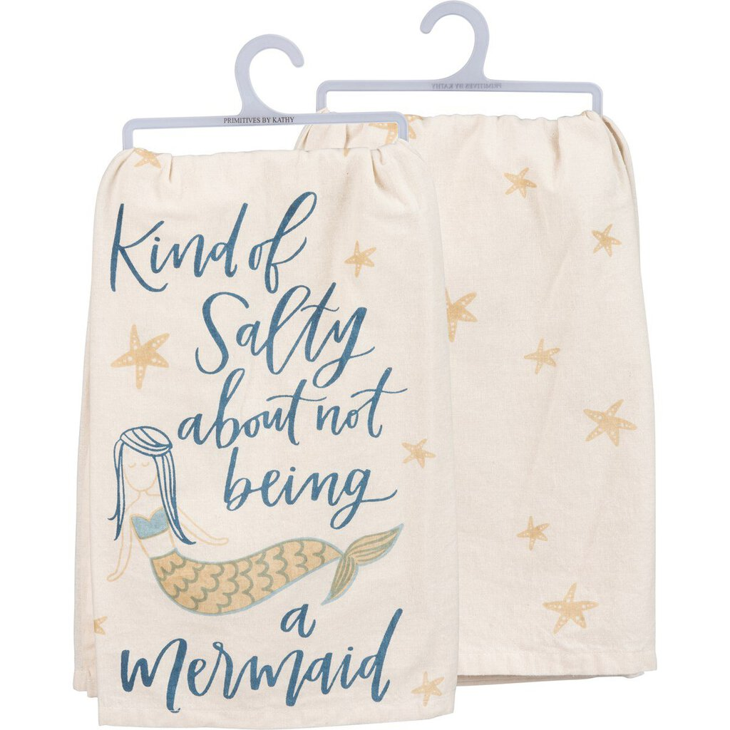 NEW Dish Towel - Kind Of Salty - 39948