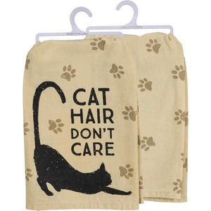 NEW  Dish Towel - Cat Hair Don't Care - 39357