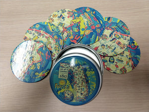 NEW Florida Coaster Set in Tin
