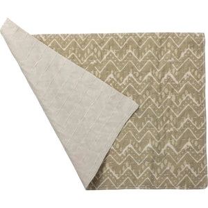 NEW Set of 4 Placemats - Chevron Cream - 38669