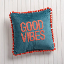 Load image into Gallery viewer, NEW Pillow - Good Vibes - 39115
