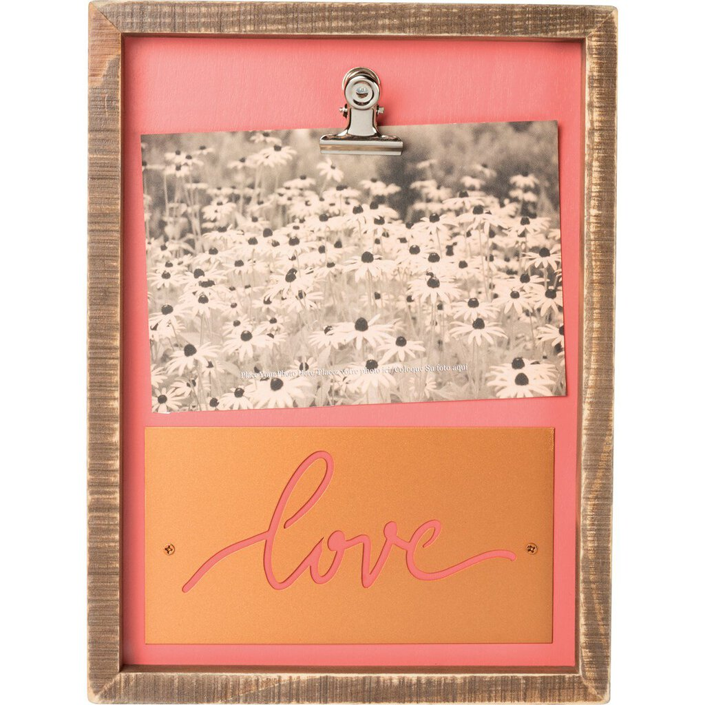 NEW Inset Box Frame - Love - 39873