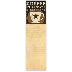 NEW List Notepad - Coffee - 35773