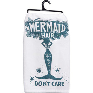 NEW Dish Towel - Mermaid Hair - 35664