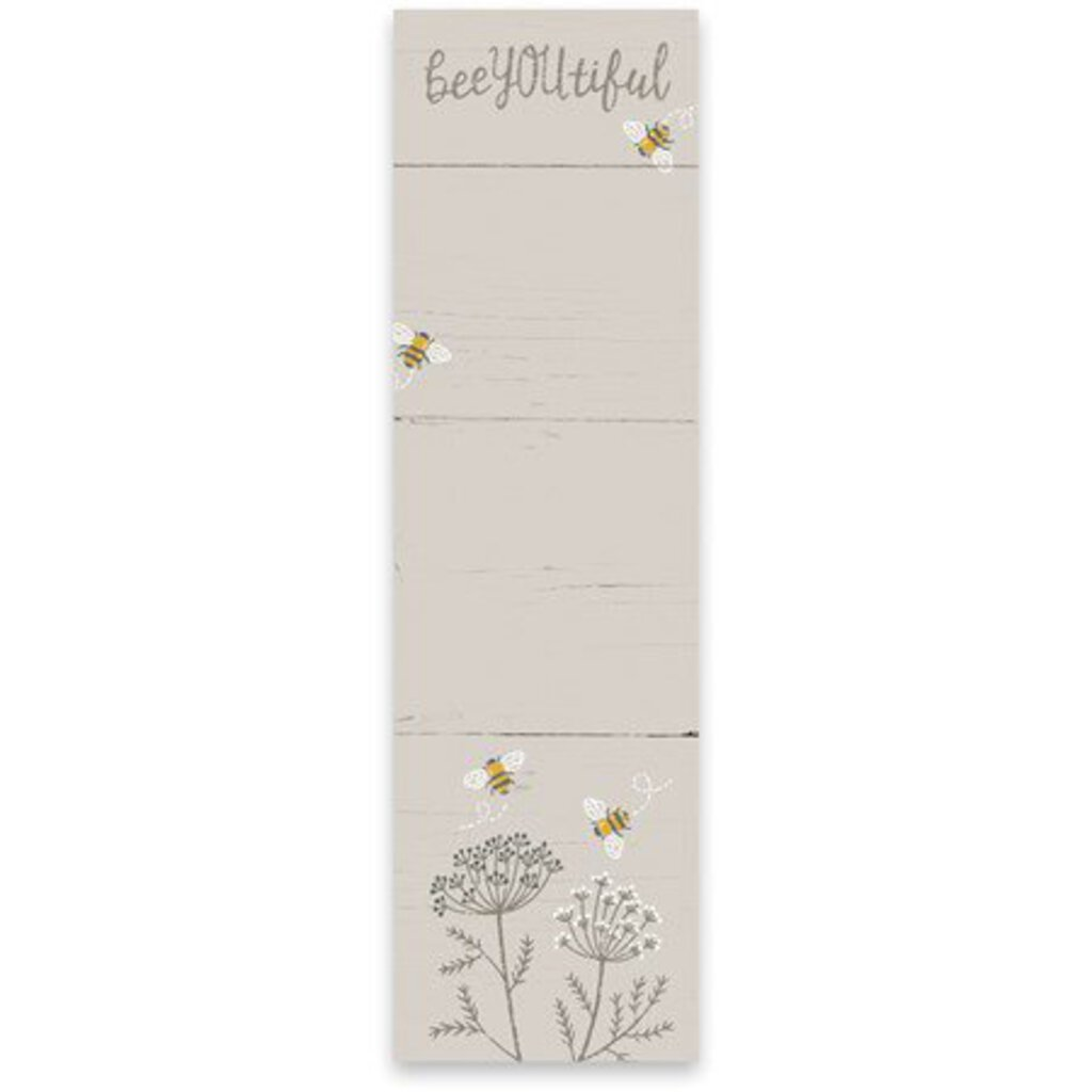 NEW List Notepad - Bee You Tiful - 100195