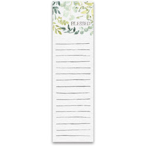 NEW List Notepad - Blessed - 101792