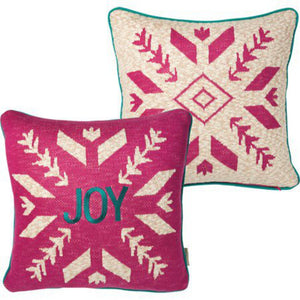 NEW Pillow - Bohemian Snowflake - 101026