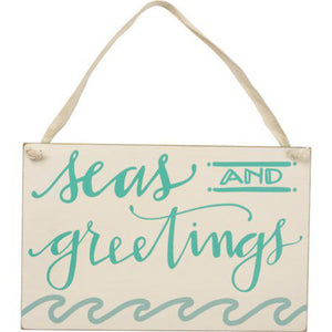 NEW Hanging Decor - Seas And Greetings - 100542