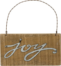 Load image into Gallery viewer, NEW Slat Sign - Joy - 34869
