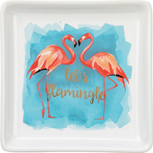 NEW Trinket Tray – Flamingle - 35113