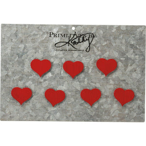 NEW Magnet Set - Hearts - 34052