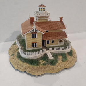 "Danbury Mint Historic American Lighthouses Collection: ""East Brother Light Station"" l"