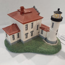 "Load image into Gallery viewer, Danbury Mint Historic American Lighthouse Collection: ""Admiralty Head Lighthouse"" WITH BOX"