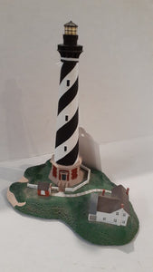 "Danbury Mint Historic American Lighthouse Collection: ""Cape Hatteras Light"""