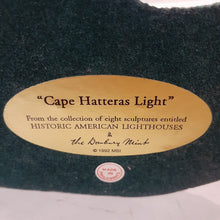 "Load image into Gallery viewer, Danbury Mint Historic American Lighthouse Collection: ""Cape Hatteras Light"""
